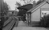 METROPOLITAN RAILWAY - BRILL TRAMWAY - WOTTON STATION - Wotton Station looking east. The overbridge carries the Great Central Railway but there was no connection with the branch. Note the goods shed and dock - seen here in 1935.