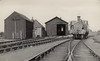 METROPOLITAN RAILWAY - BRILL TRAMWAY - BRILL LOCOSHEDS - The engine sheds at Brill, old to the left, new to the right - seen here in 1935.