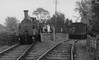 METROPOLITAN RAILWAY - BRILL TRAMWAY - WOTTON STATION - Wotton Station looking west in 1935. Quite a crowd on the platform - I think the lady in the white coat is waiting for the photographer to finish!