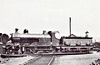 SOMERSET & DORSET JOINT RAILWAY - 15 - Johnson Class A 4-4-0 - built 1891 by Derby Works as S&DJR No.18 - 1928 to S&DJR No15, 1930 to LMS No.301 - 1931 withdrawn.
