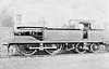 METROPOLITAN RAILWAY - 70 - Metropolitan Class C 0-4-4T - built 1891 by Neilson & Co. as MR No.70 - all withdrawn around 1920.