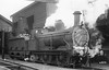 SOMERSET & DORSET JOINT RAILWAY - 41 - Johnson MR 2F 0-6-0 - 6 engines built 1879 by Vulcan Foundry - seen here at Bath in 1925.