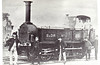 SOMERSET & DORSET JOINT RAILWAY -11 -  2-4-0T - built 1861 by George England & Co. - 1863 acquired by S&DR, 1871 sold to LSWR for use by Admiralty.