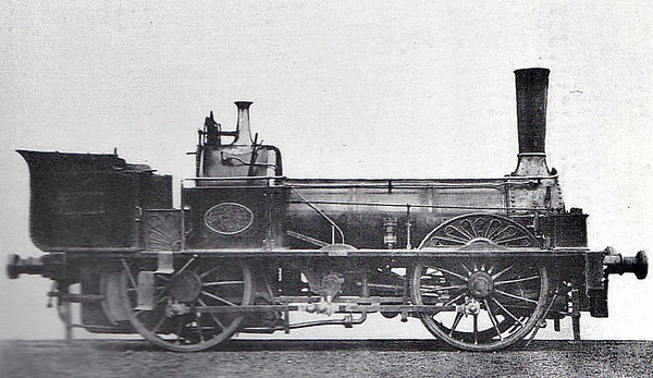 EDENHAM & LITTLE BYTHAM RAILWAY - 219 - The company owned two locomotives, OPHIR, a converted road engine, and HAVILAH. It was decided in 1858 to approach Daniel Gooch, provider of HAVILAH, for a third engine as two were felt to be insufficient in case of emergency. In the meantime, No.219 was hired from the GNR. This was an 0-4-0WT, driven through a dummy crank axle, weighing 16 tons, 4 tons overweight for the line, and not considered to be a 'good' engine.