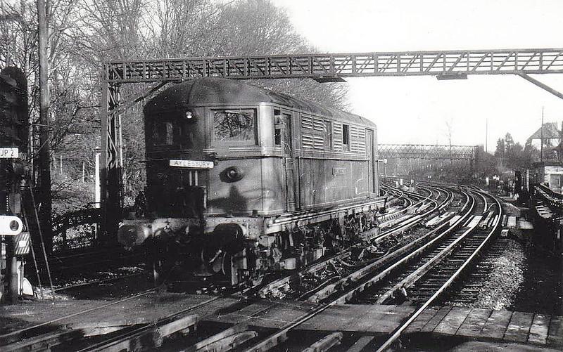 LONDON TRANSPORT - 11 GEORGE ROMNEY - MV Bo-Bo DC Electric - built 1922 by Metropolitan Vickers - withdrawn 1962.