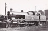 METROPOLITAN RAILWAY - 107 - Jones Metropolitan Railway LNER Class H2 4-4-4T - built 03/21 by Kerr Stuart & Co. as Met No.107 - 06/38 to LNER No.6419 - LNER No.7514 not applied - 09/43 withdrawn from Colwick MPD - seen here at Neasden MPD.