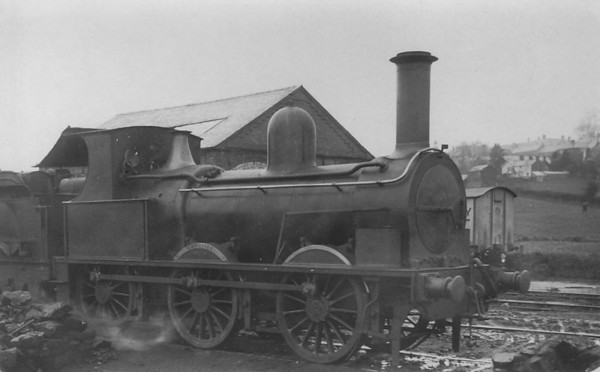 BISHOPS CASTLE RAILWAY - No.2 CARLISLE - 0-6-0 - built 1868 as 0-6-0ST by Kitson & Co. in 1868 for Thomas Nelson & Co. of Carlisle - acquired at unknown date - broken up in April 1937 upon closure. The Bishops Castle Railway was begun in 1861, planned as a line from Craven Arms to Montgomery, thus linking the Shrewsbury to Hereford line to the Oswestry to Newtown line, with a branch line from Lydham to Bishop's Castle. From the start, the railway was hampered by shortage of capital. Although the company continued to build, the line ultimately only reached Bishop's Castle and was sold in 1867. In January 1867, a sale by auction of property belonging to the company was held in Shrewsbury. A receiver was appointed to run the railway. The Bishops Castle Railway Company remained in receivership for 69 years and 2 months until it closed in April 1935. The line was lifted in February 1937.