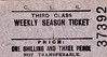 CORRINGHAM LIGHT RAILWAY - Third Class Weekly Season Ticket, fare 1s 3d.<br /> The Corringham Light Railway in Corringham, Essex, opened to freight on 1 January 1901, to passengers on 22 June 1901. It closed to passengers on 1 March 1952 and was absorbed into the Mobil Oil Company on 20 September 1971. The railway itself went from an end on junction with the London Tilbury and Southend Railway at Thames Haven to both Corringham and Kynochtown (later Coryton).