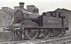 METROPOLITAN RAILWAY - 81 - Metropolitan Class E 0-4-4T - built 1901 by Hawthorn Leslie & Co., Works No.2476, for Aylesbury line duties - 1935 to LT No.L48 - seen here at Neasden.