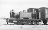 CORRINGHAM LIGHT RAILWAY - KYNITE - 0-4-2T - built 1901 by Kerr Stuart & Co., Works No.692, Waterloo Class - new to CLR - 1919 withdrawn - 1922/3 used as stationary boiler - 1952 scrapped - seen here in less than perfect condition.