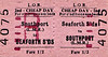 LIVERPOOL OVERHEAD RAILWAY TICKET - SEAFORTH SANDS - Second Class Child Cheap Day Return to Southport (LMR) - fare 1s 2d. This is a BR post-1948 ticket.
