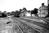 EASINGWOLD STATION - Easingwold Station with stock in the platform in 1956. It has hardly changed from the day it opened!