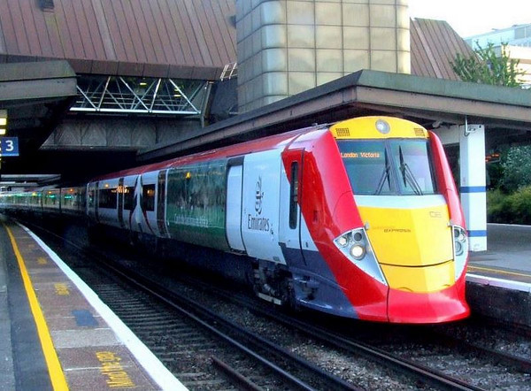 Southern 377425 Gatwick Airport Rail Photo
