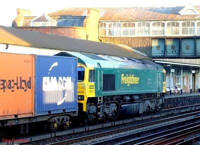 """FL 66502 """"Basford Hall Centenary 2001"""" Eastleigh. 21st May 2009."""