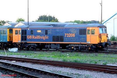 """GBRf 73206 """"Lisa"""" Eastleigh. 21st May 2009."""
