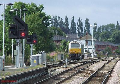 Unidentified Wrexham & Shropshire class 67 Wrexham General 15th July 2010.