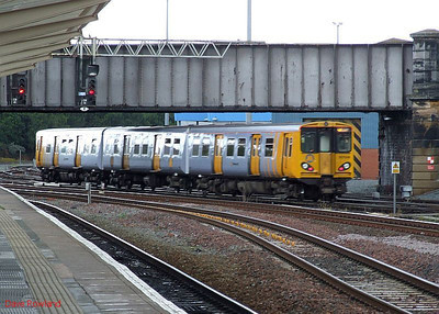 Merseyrail 507 008 Chester 15th July 2010.