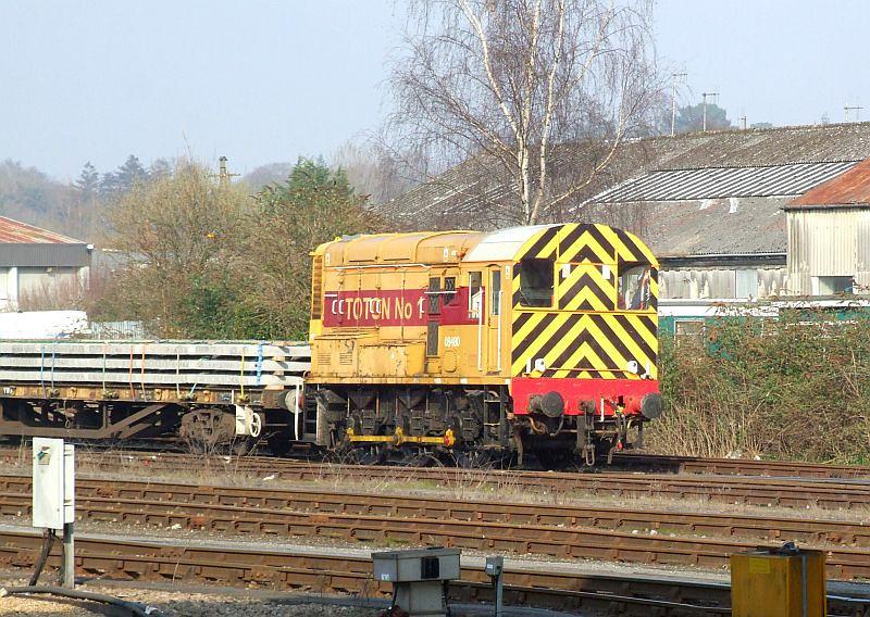 EWS 08480, Eastleigh, 8th March 2011.