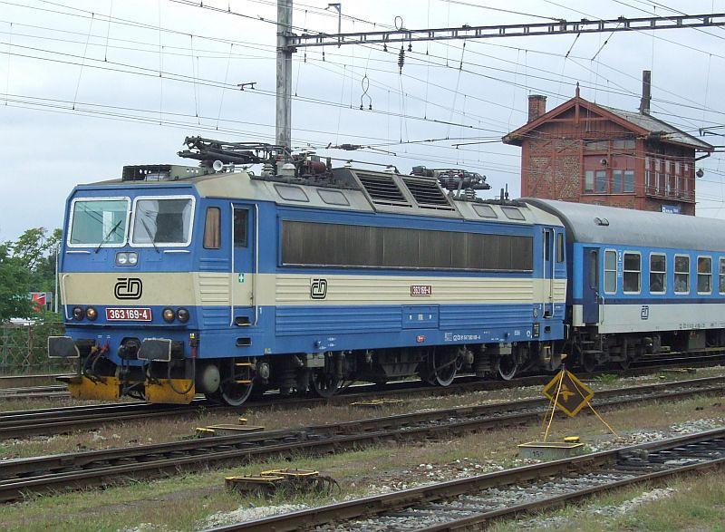 CD 363 169 Brno hlavni nadrazi 29th July 2011.