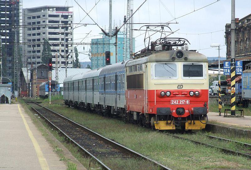 CD 242 217 Brno hlavni nadrazi 29th July 2011.