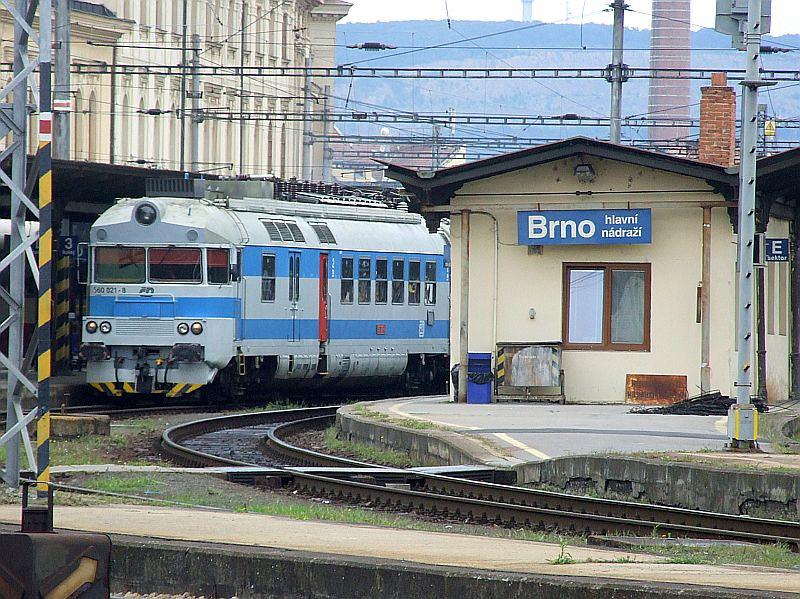 CD 560 021 Brno hlavni nadrazi 29th July 2011.