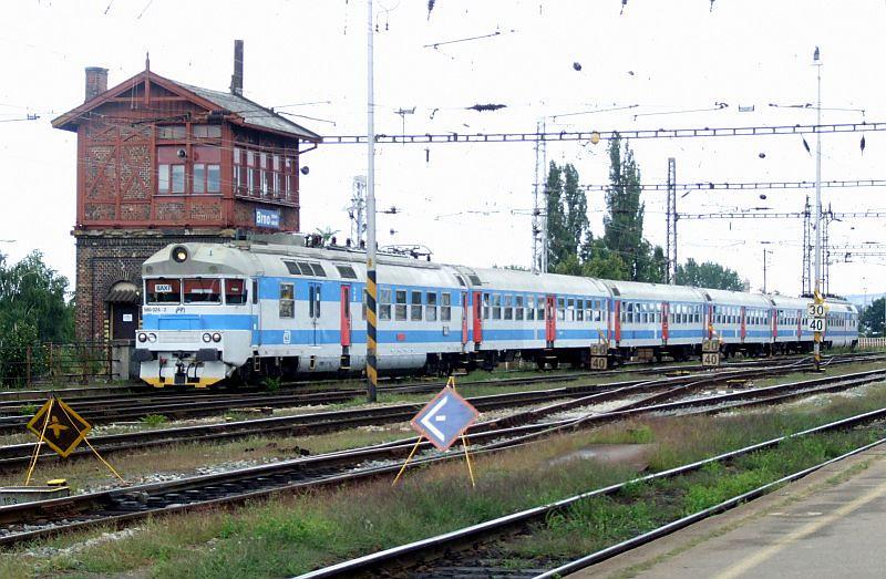CD 560 024/560 023 Brno hlavni nadrazi 29th July 2011.