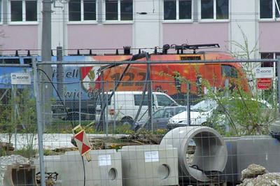 OBB 1116 250, Salzburg depot, 16th April 2011.