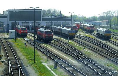 Mühldorf depot view, 16th April 2011.