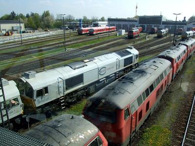 247 055, 247 055, Mühldorf depot, 16th April 2011.