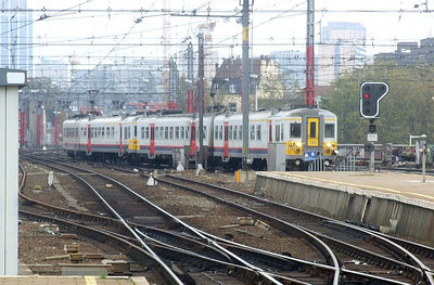 SNCB 765 at Brussel Zuid, 12th November 2012.