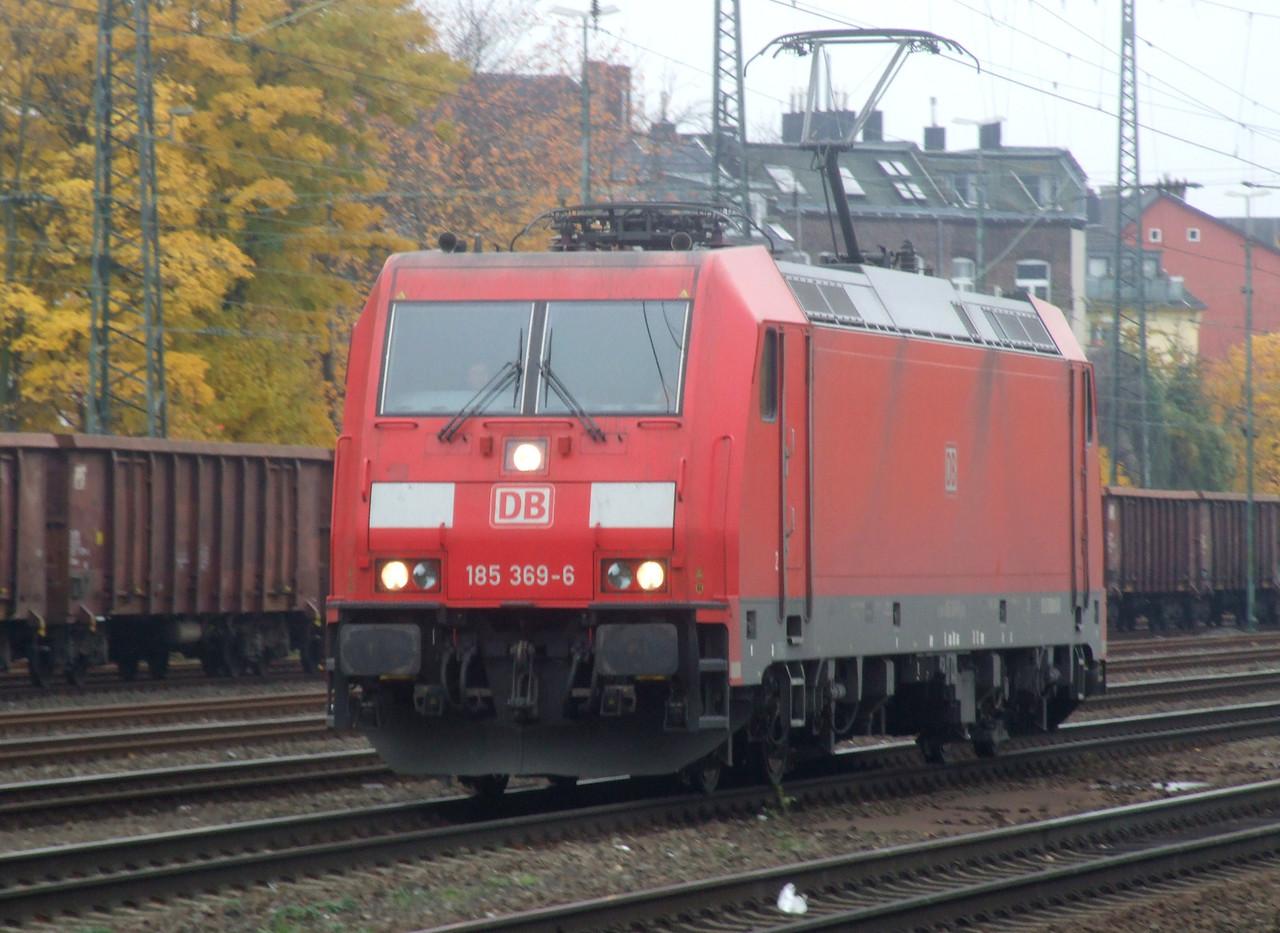 DB 185 369 at Köln West, 13th November 2012.
