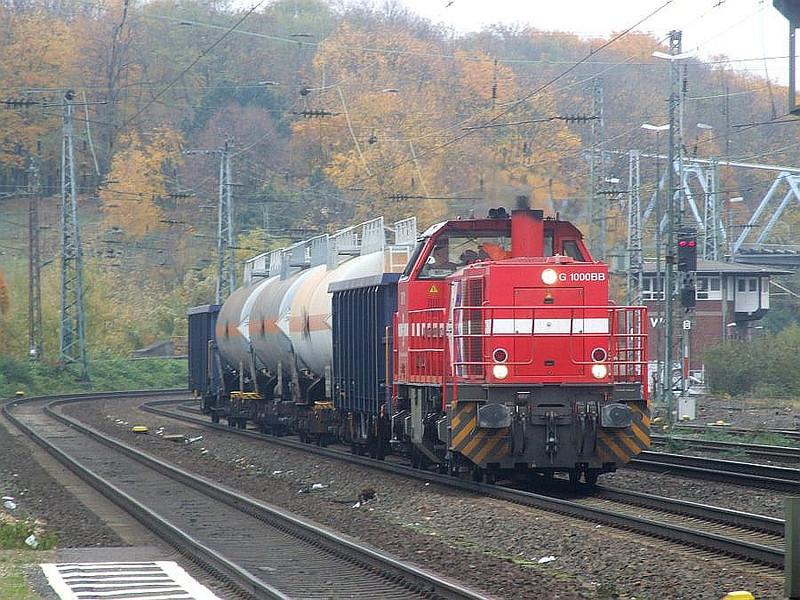 DH711 at Köln West, 13th November 2012.