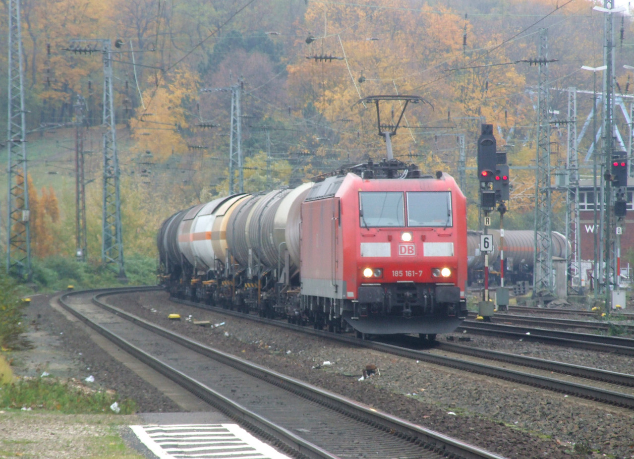 DB 185 161 at Köln West, 13th November 2012.