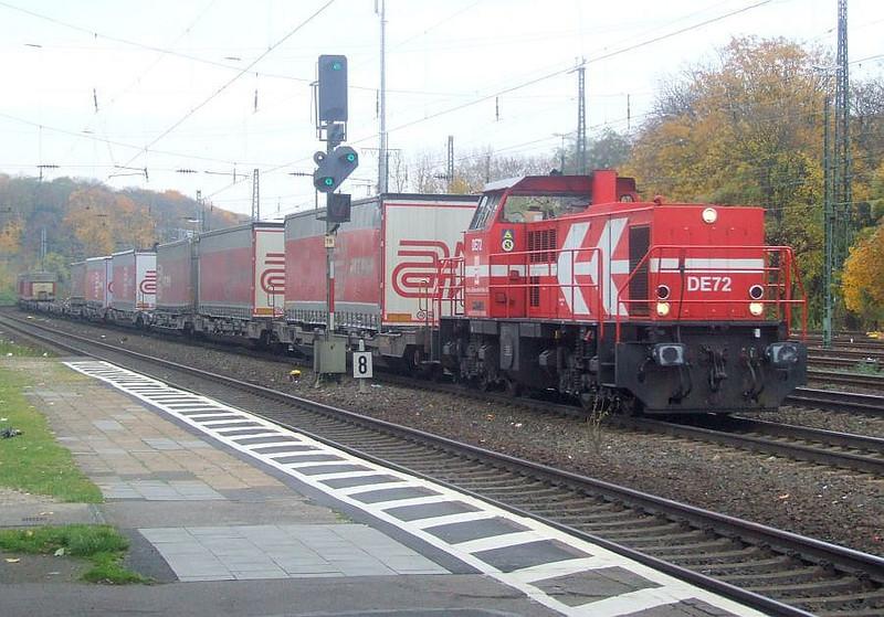 DE72 at Köln West, 13th November 2012.