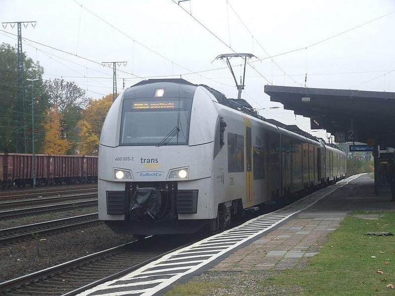 DB 460-005 + 460-009 at Köln West, 13th November 2012.