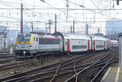 SNCB 1892 at Brussel Zuid, 12th November 2012.