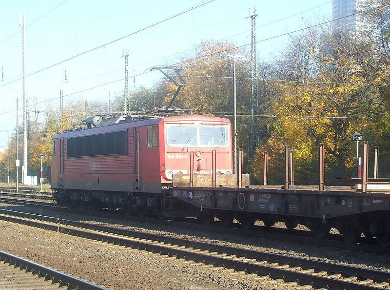 DB 155 081 at Köln West, 14th November 2012.