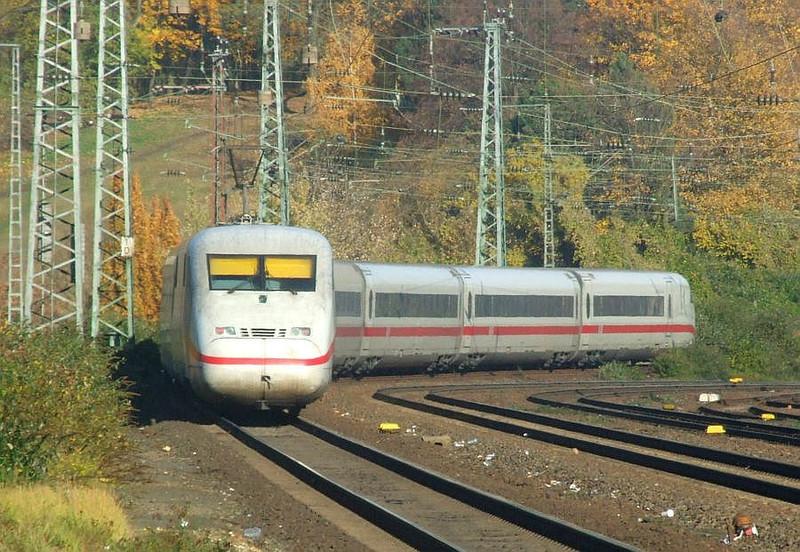 DB ICE at Köln West, 14th November 2012.