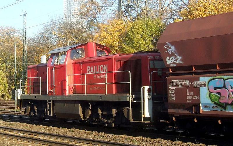 294 893 at Köln West, 14th November 2012.
