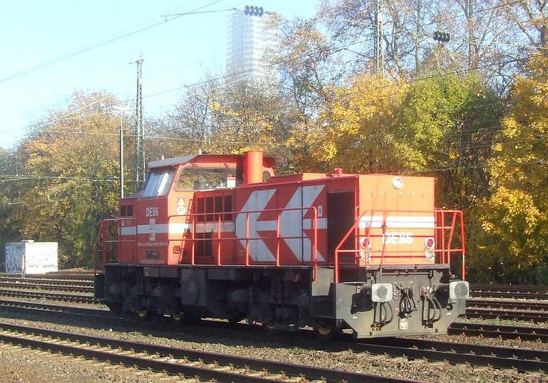 DE86 at Köln West, 14th November 2012.