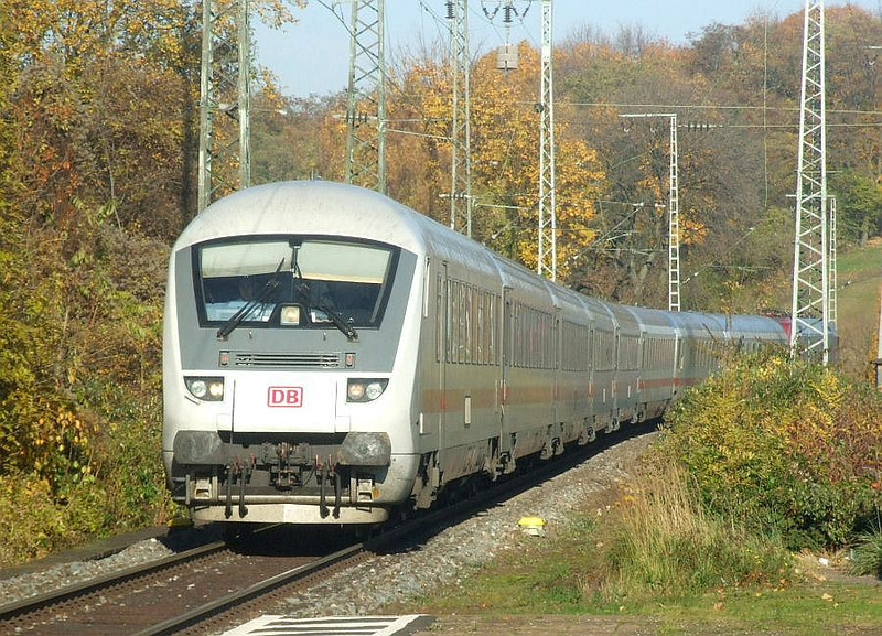 DB driving trailer (with 101 110 at rear) at Köln West, 14th November 2012.