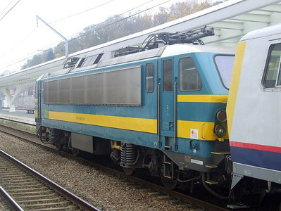 SNCB 2748 at Liege Guillemins, 15th November 2012.