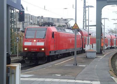 DB 146 030 at Aachen Hbf, 15th November 2012.