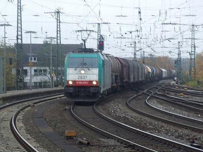 SNCB 2837 at Aachen Hbf, 15th November 2012.