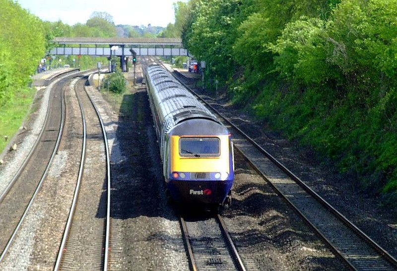 FGW HST, Tilehurst. 15th May 2012.