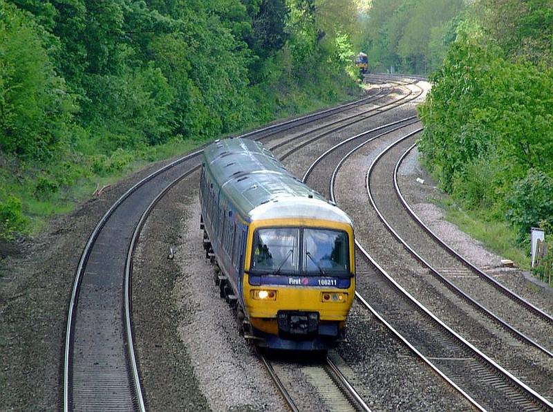 FGW 166 211, Tilehurst. 15th May 2012.