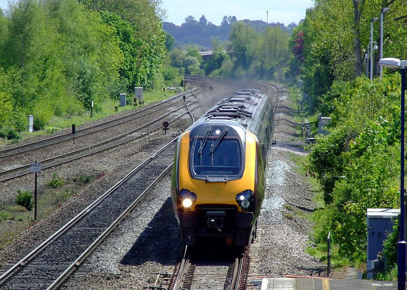 XC Voyager, Tilehurst. 15th May 2012.