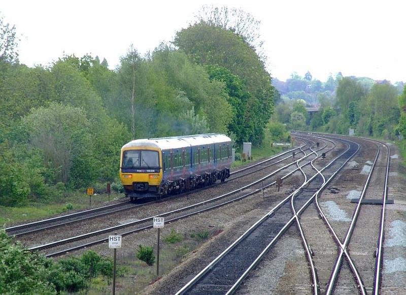 FGW 166 206 Tilehurst. 15th May 2012.