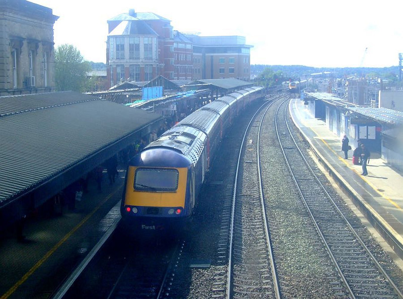 FGW HST, Reading. 15th May 2012.