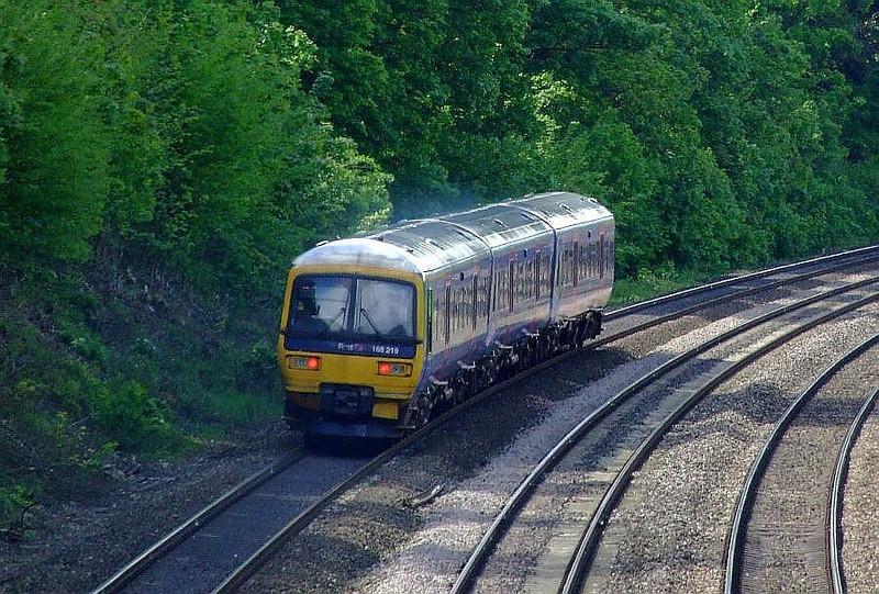 FGW 166 219, Tilehurst. 15th May 2012.